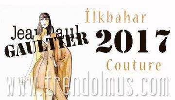 Jean Paul Gaultier, İlkbahar 2017 Couture